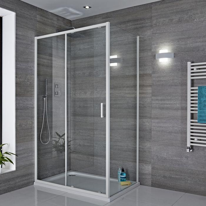 Biard Applique Murale Bianco per Stanza da Bagno 11W - Aqua
