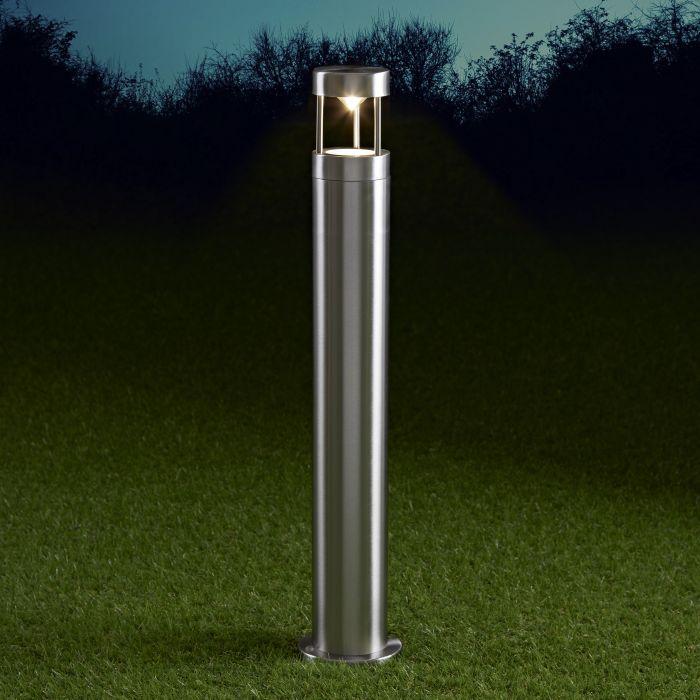 Biard Paletto LED da Esterno 6W in Acciaio Inox 600mm con Lampadina GU10 - Niort