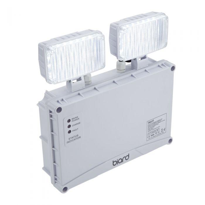 Biard Faretto Doppio di Emergenza con Luci LED Spot 5W