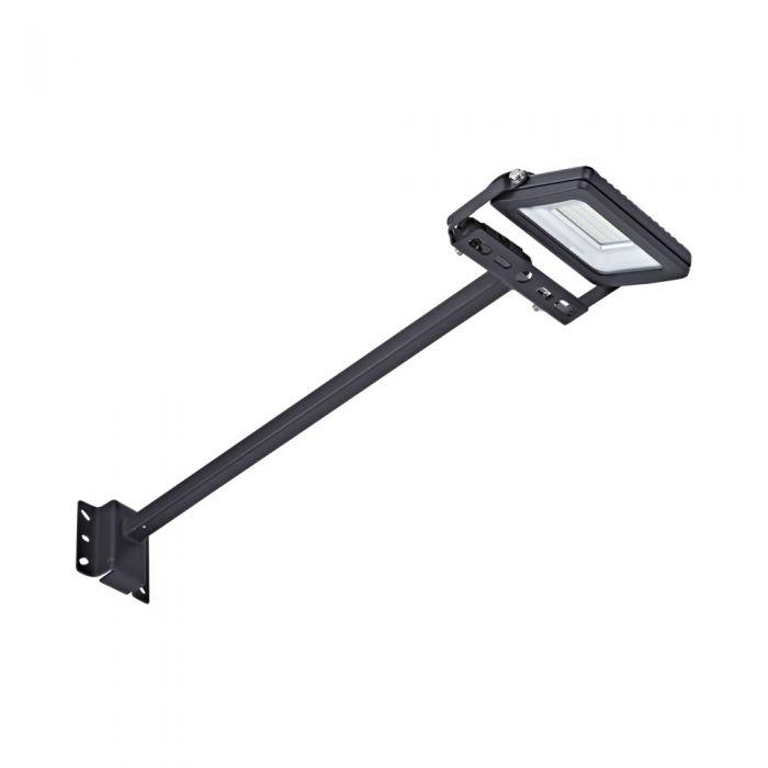 Kit LED per Esterni Completo di con Braccio 0,5m con Faretto Proiettore 10W IP65