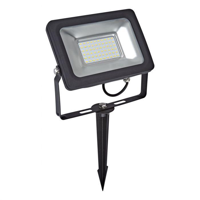 Kit LED per Esterni Completo di Picchetto da Pavimento per Faretto Esterno LED 30 Watt