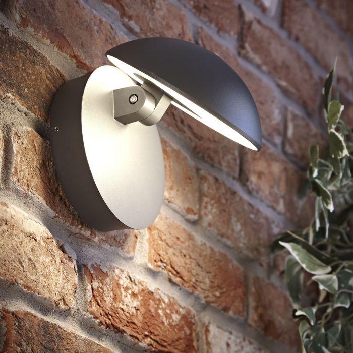 Biard Applique LED Orientabile Antracite - Piombino
