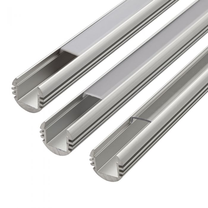 Biard Copertura Alluminio Circolare per Illuminazione LED 100cm