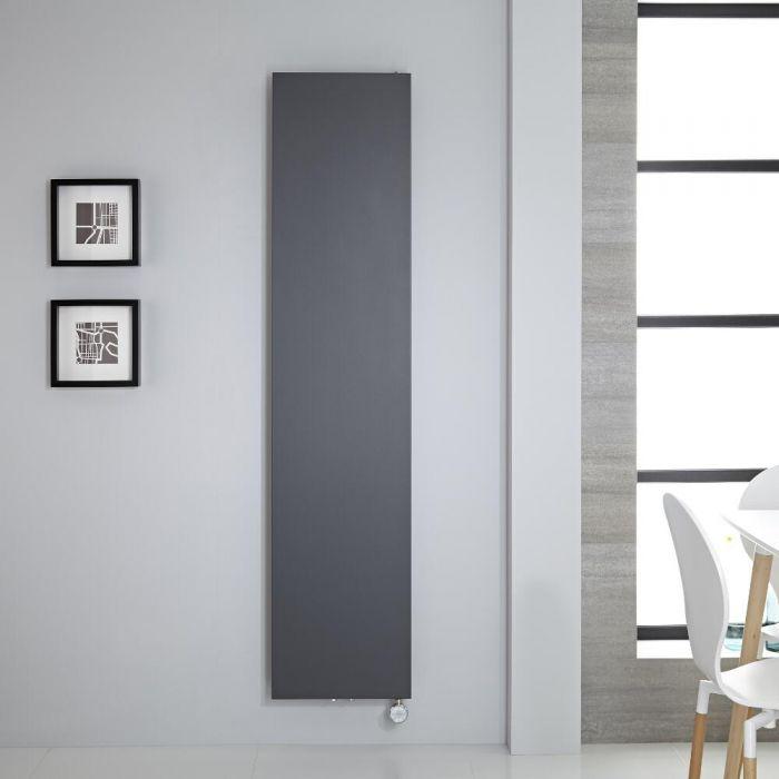 Radiatore di Design Elettrico Verticale - Antracite - 1800mm x 400mm - Arch
