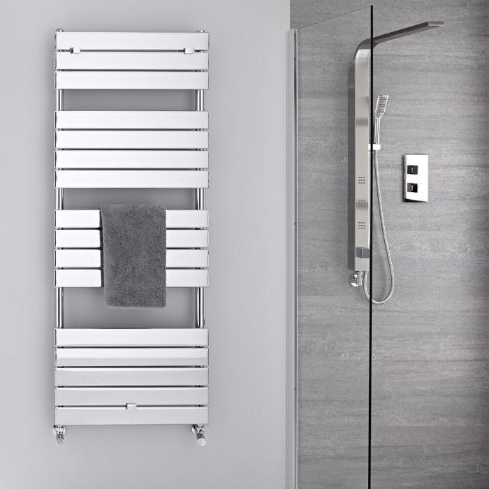 Radiatore Scaldasalviette - Piatto - Cromato - 1512mm x 600mm  - 666 Watt - Lustro