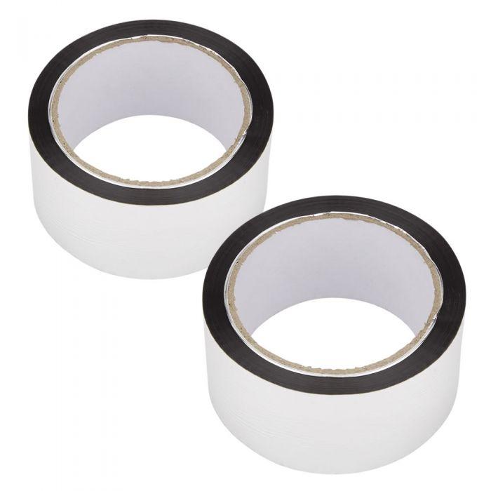 2 Rotoli di Nastro adesivo 50m x 50mm
