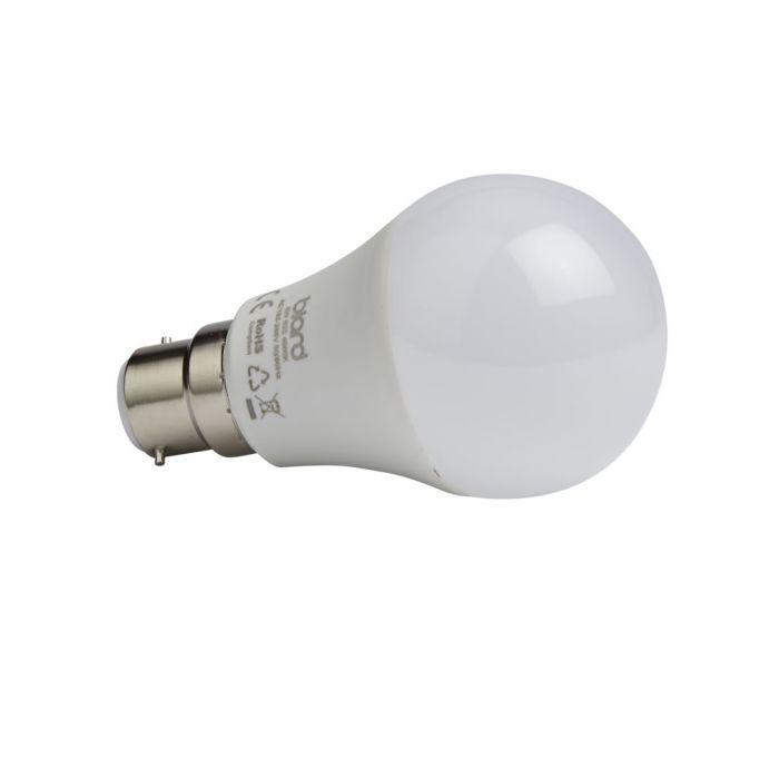 Biard Kit con 6 Lampadine LED B22 Non Dimmerabili 5W