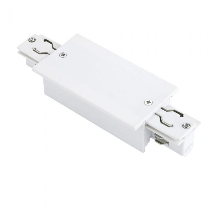 Biard Connettore Per Binario da Incasso con Sistema Trifase - Bianco