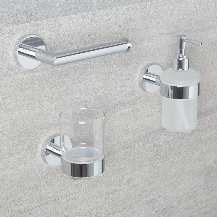 Set di Accessori per Bagno con 3 Articoli - Prise