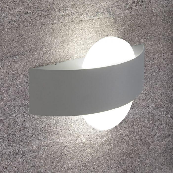 Biard Applique Murale Colore Bianco per Stanza da Bagno 11W - Saturn