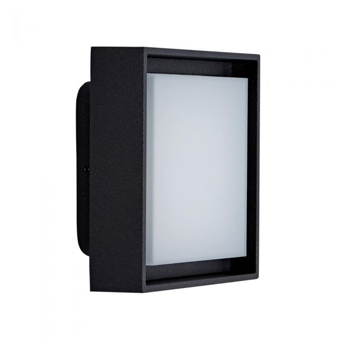 Applique LED Murale Disponibile con Finitura Nera o Antracite IP65 - Turin