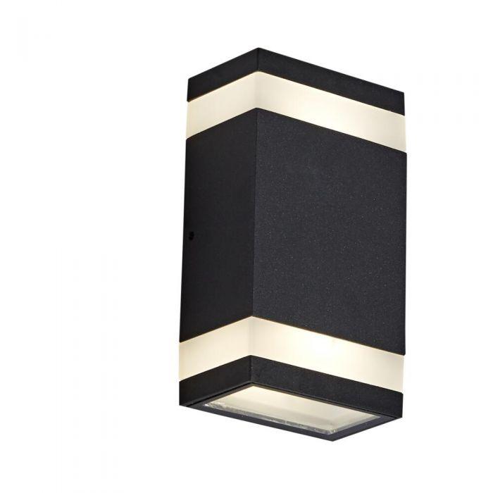 Applique LED Ascendente /Discendente Disponibile con Finitura Nera o Antracite - Jimara