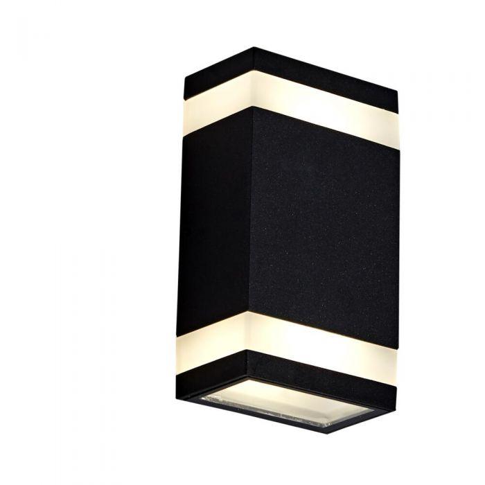 Applique LED Ascendente/Discendente Murale IP65 Disponibile con Finitura Nera o Antracite - Architect