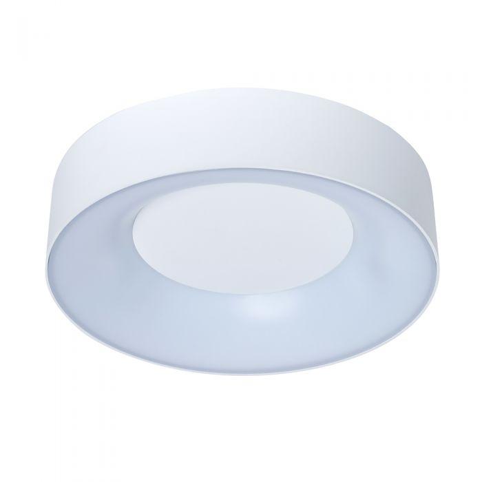 Plafone da Soffitto Bianco Circolare 18W IP54- Lecce