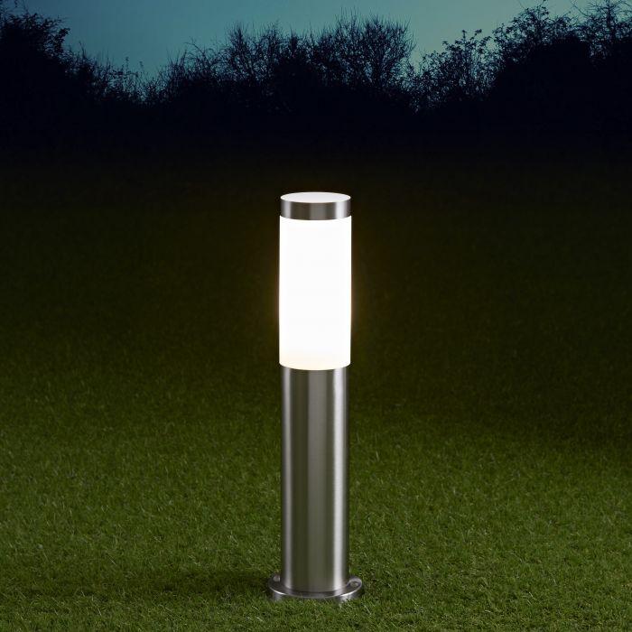 Biard Paletto LED da Esterno 6W in Acciaio Inox 450mm con Lampadina E27- Le Mans