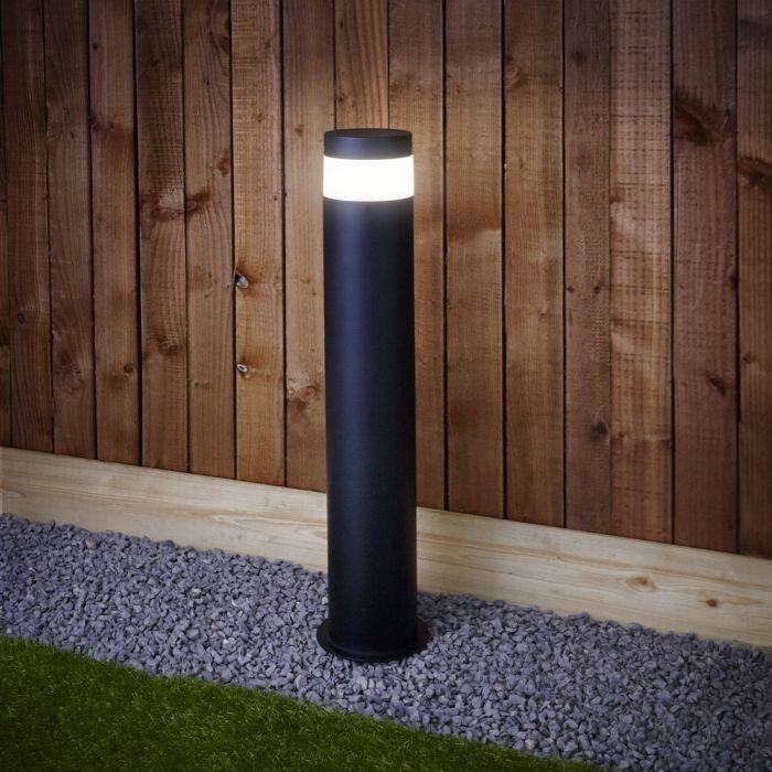Paletto da Esterno Colore Nero LED - Gols
