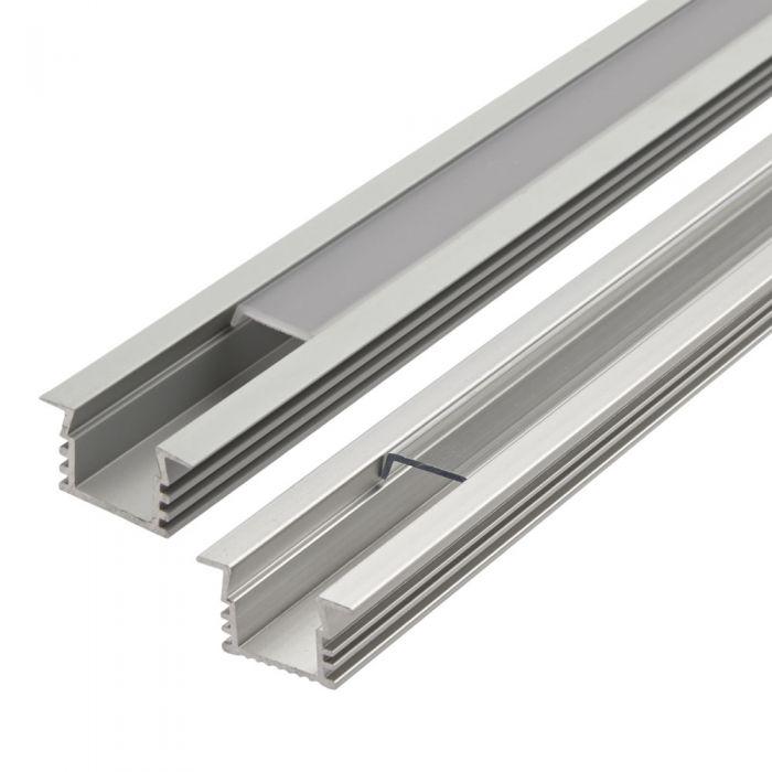 Biard Copertura Alluminio per Illuminazione LED 100cm