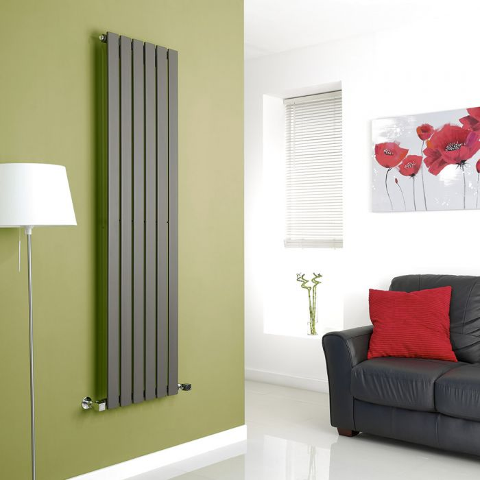 Radiatore di Design Verticale- Disponibile in Diverse Misure e Finiture - Delta