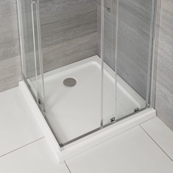 Piatto Doccia Quadrato 900x900mm Duco Stone