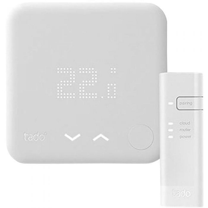 Kit di Base Intelligente (v3) Tado° con Internet Bridge e Termostato Intelligente