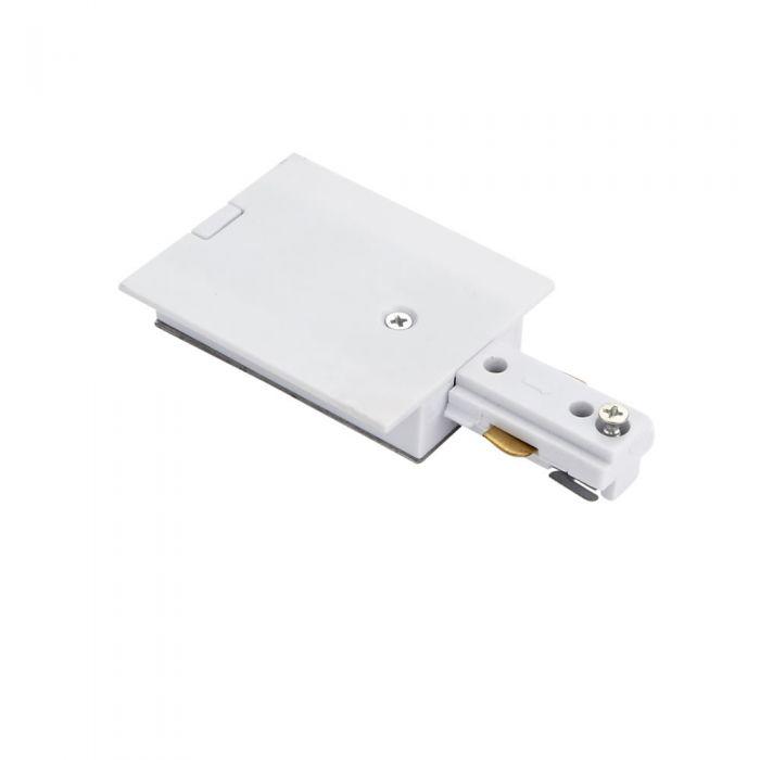 Biard Connettore Per Binario Monofase - Bianco