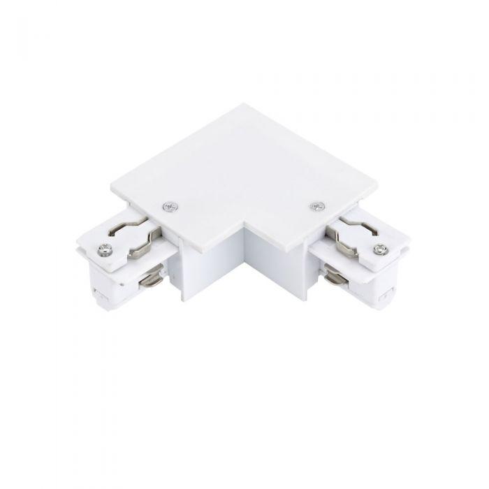 Biard Connettore Tipo L per Binario Trifase da Incasso - Bianco