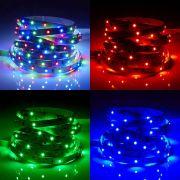 Biard Strisce LED 5 metri Multicolore RGB Rosso, Verde e Blu