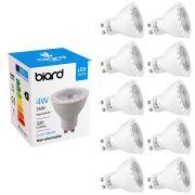 Biard 10x Faretti Spot LED da Soffitto 4W Equivalente a 35W