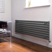 Radiatore di Design Orizzontale  - Antracite - 472mm x 1600mm x 56mm - 1065 Watt - Revive