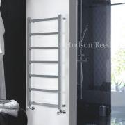 Radiatore Scaldasalviette Piatto - Cromato - 1200mm x 600mm x 105mm - 326 Watt - Eton