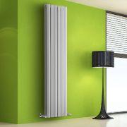 Radiatore di Design Verticale Doppio - Bianco - 1780mm x 560mm x 86mm - 2158 Watt - Rombo