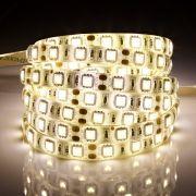 Biard Strisce LED 3528 5 Metri Bianco Ultra Caldo - Resistente all'acqua
