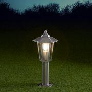 Biard Paletto LED da Esterno 4W Stile Faretto in Acciaio Inox 450mm con Lampadina E27 - Cannes