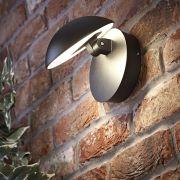 Biard Applique LED Orientabile con Finitura Nera - Piombino