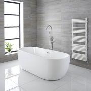 Vasca Centro Stanza Ovale Moderna 1800 x 750mm x 580mm - Otterton