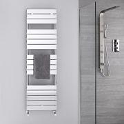 Radiatore Scaldasalviette - Piatto - Cromato - 1512mm x 600mm  - 535 Watt - Lustro