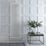 Radiatore di Design Verticale Doppio Tradizionale - Bianco - 1800mm x 560mm x 70mm - 1867 Watt - Regent