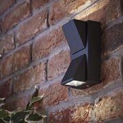 Biard Applique Murale da Esterno Nero Bidirezionale LED 6W - Architect