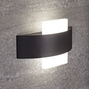 Biard Applique Murale Quadrato in Nero per Stanza da Bagno 11W - Aqua