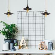 Biard Lampada a Sospensione in Realizzata in Ferro Nero Stile Vintage Disponibile in 5 Colori - Noord