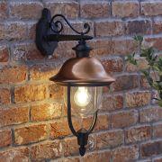Biard Applique Murale Stile Lanterna a Sospensione da Esterno Discendente con Lampadina E27 - Verona