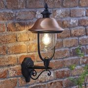 Biard Applique Murale Stile Lanterna da Esterno Discendente con Lampadina - Verona