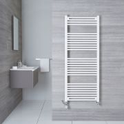 Radiatore Scaldasalviette Misto Piatto - Bianco - 1500mm x 600mm x 30mm - 942 Watt - Etna