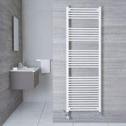 Radiatore Scaldasalviette Misto Piatto - Bianco - 1800mm x 600mm x 30mm - 1138 Watt - Etna