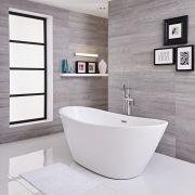 Vasca Centro Stanza Ovale 1700 x 785 x 670mm - Ashbury