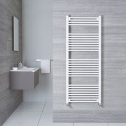 Radiatore Scaldasalviette Piatto - Bianco - 1500mm x 600mm x 30mm - 928 Watt - Etna