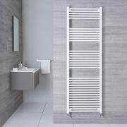 Radiatore Scaldasalviette Piatto - Bianco - 1800mm x 600mm x 30mm - 1122 Watt - Etna