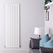 Radiatore di Design Verticale - Bianco - 1780mm x 560mm x 47mm - 1316 Watt - Delta