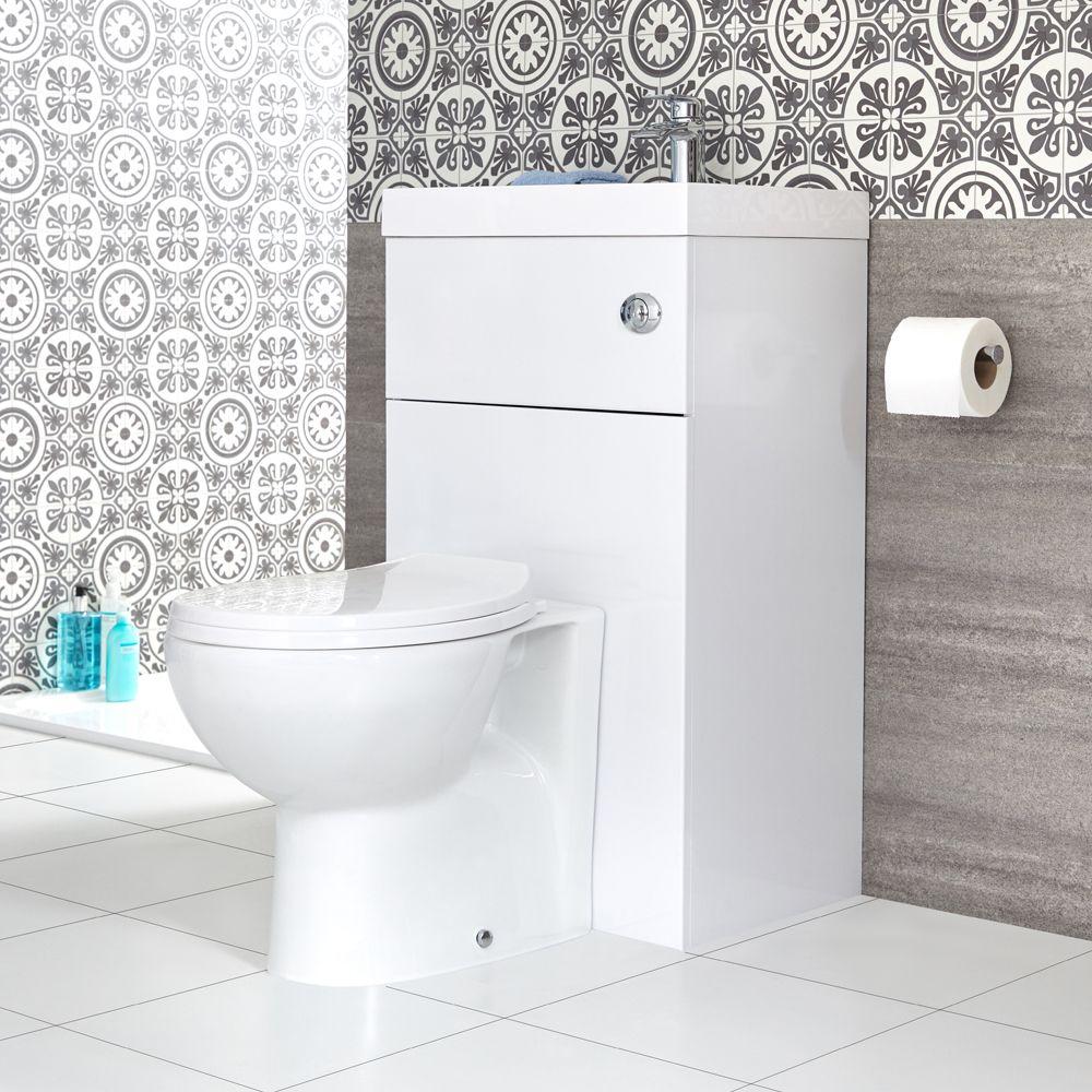 Lavabo Bagno Piccolo Misure set bagno colore bianco completo di lavabo e sanitario integrato