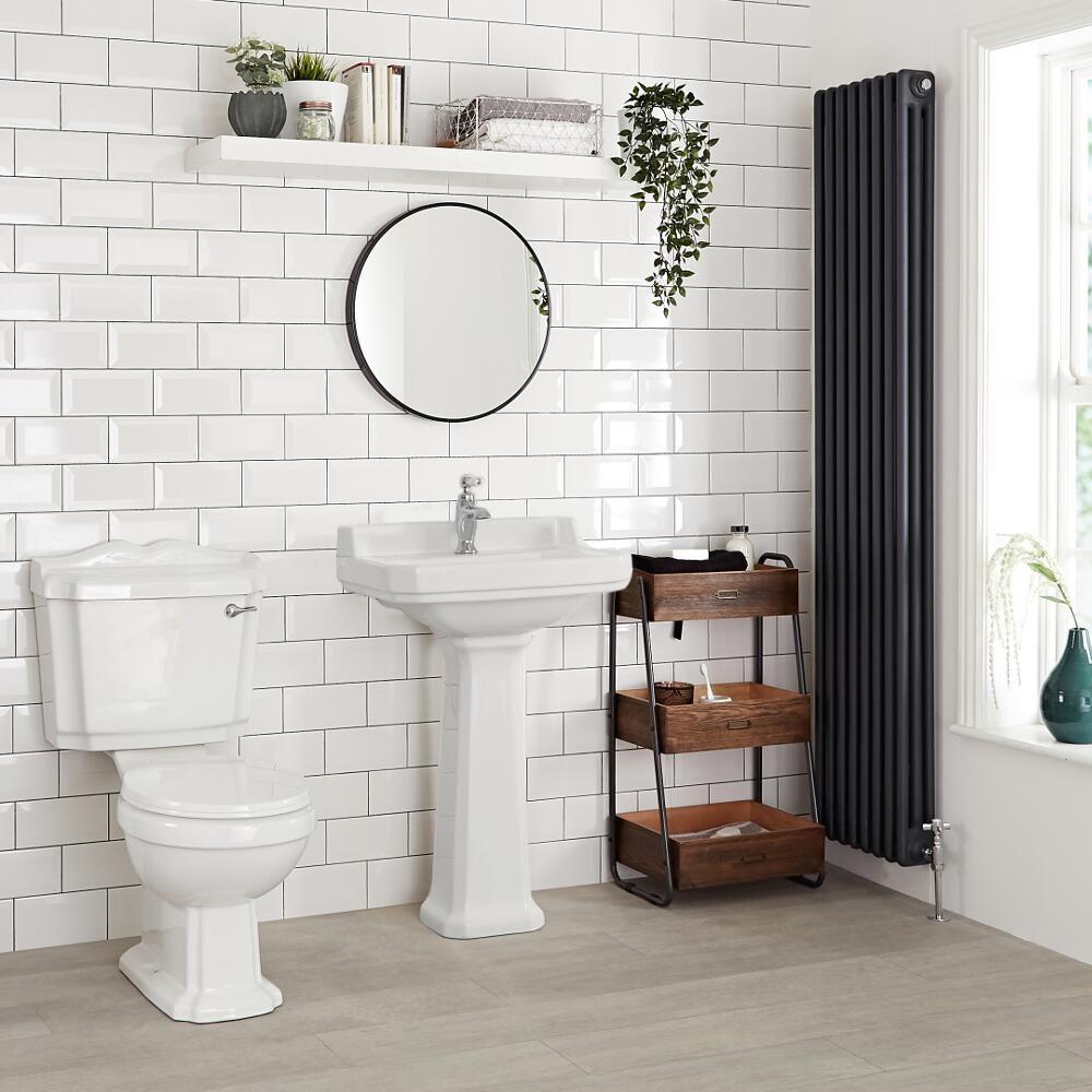Lavabo A Colonna Design lavabo su colonna 595mm tradizionale - richmond
